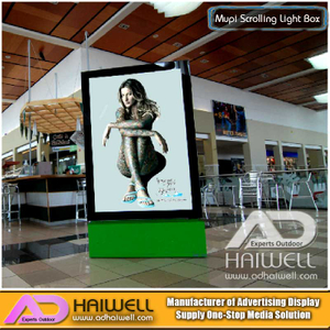 Super Shopping Mall Mupi Static Light Box LED - Insegne per interni
