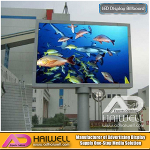 Outdoor Advertising Led Electronic Digital Display Billboard Structure