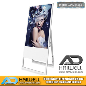 "43 ""Pannelli pubblicitari per display LCD per display ultra sottile portatili con display digitale"