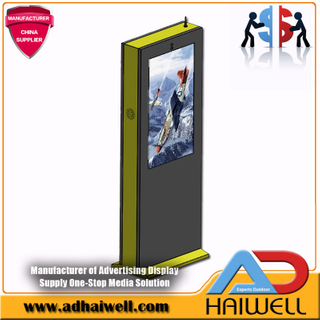 Display LCD FullHD Outdoor Digital Signage singolo da 43 pollici